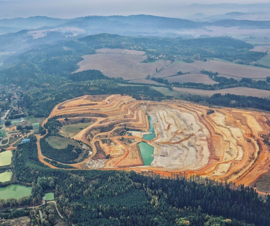 Strip mining is not an ethical practice for sourcing gemstones