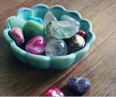 Crystal garden in your home
