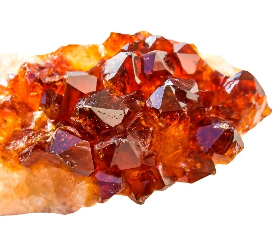 Hessonite Garnet Fall Gemstones
