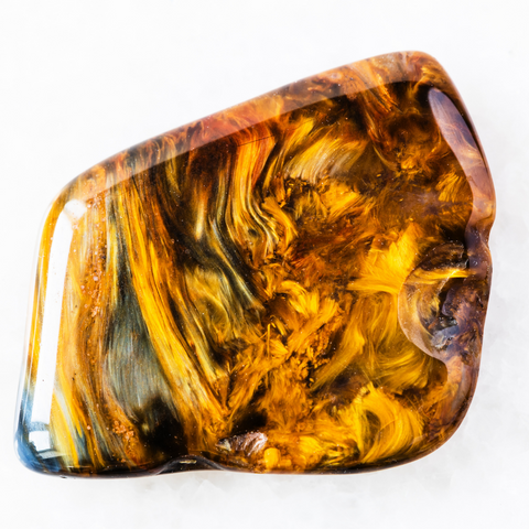 Golden pietersite comes from China