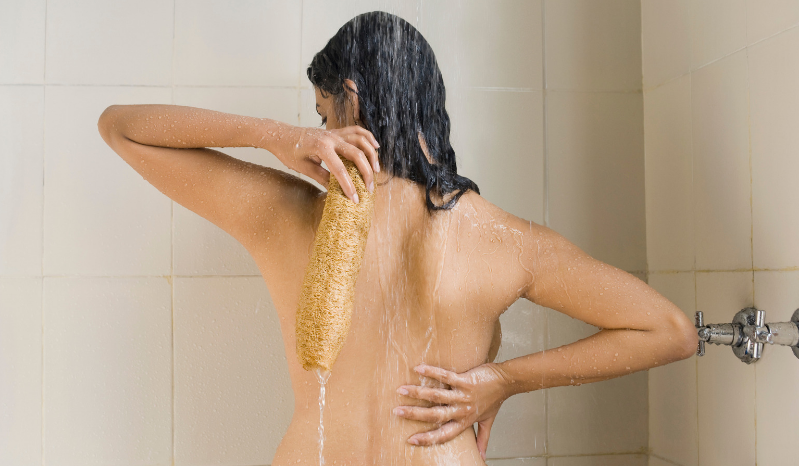 Use a loofah Beeswax Essentials Health Tips