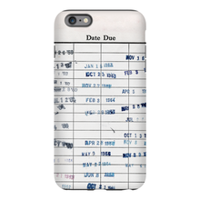 Library Stamps Phone Case