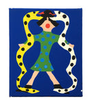 """TWO SNAKES AND GIRL