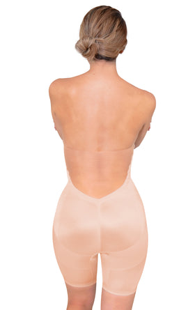 Full-Length Waist Shaper Backless Bodysuit - 11467PAN