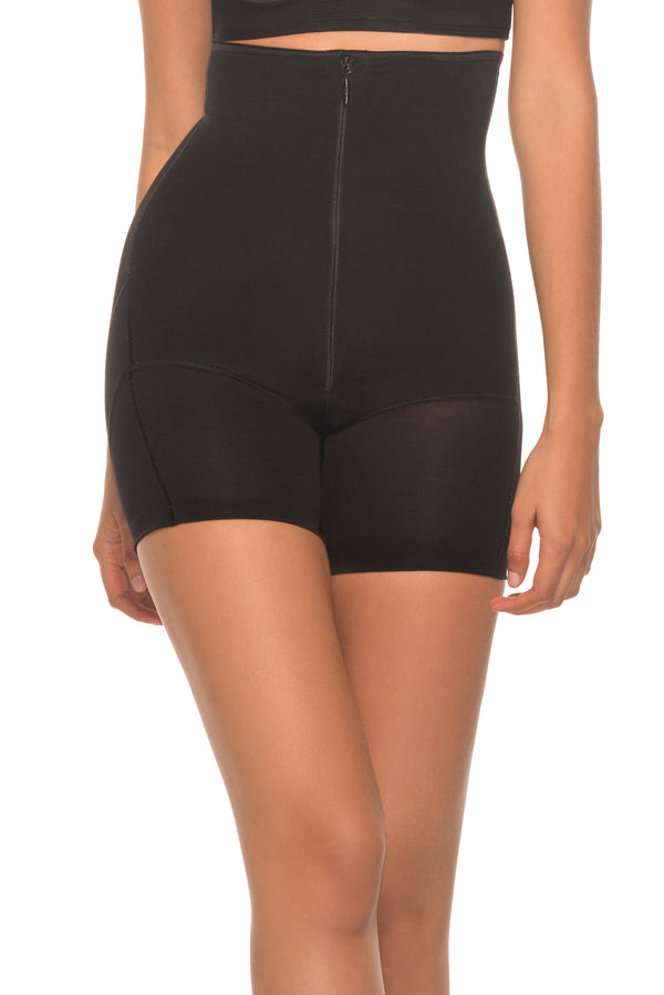 b6e10362f66 Annette Women s Extra Firm Control High Waist Boy Short with Front Zip -  Annette