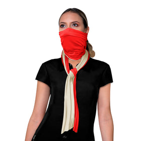 Scarf Face Mask made with Anti-Fluid Treatment - N103