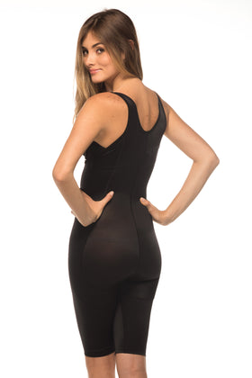 Annette Women's High Back Above the Knee Body Shaper-IC-3001