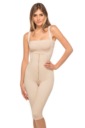 Annette Women's Full Body Below the Knee Girdle-ST-146PF