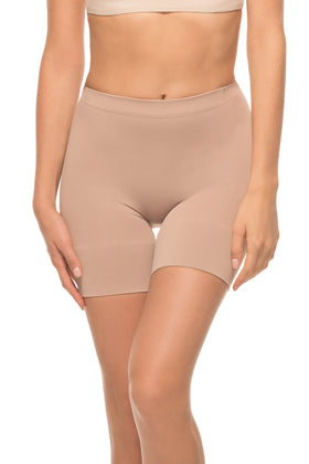 Annette Women's Long Boy Short with Butt Lift and Emana Fiber-SW-236