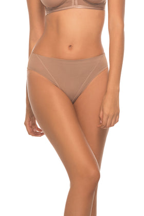 Annette Women's Light High Cut Control Brief- UN0016PT