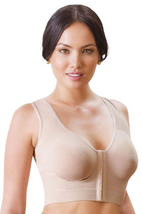 Annette's Post Surgical Front Close Longline Recovery-Sleep-Leisure Bra - WL0010BR
