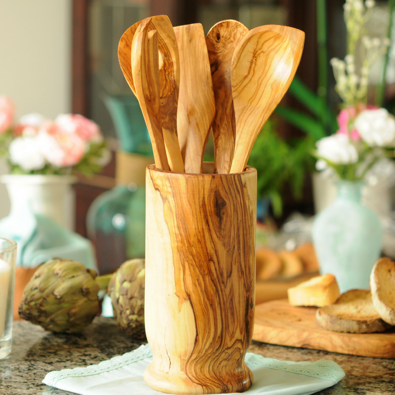 Olive Wood  Salt Scoop Coffee Scoop