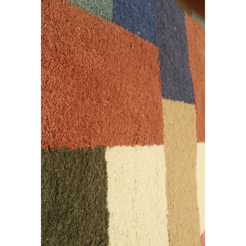 Handwoven BeldiNest Berber Rug- Multicolored