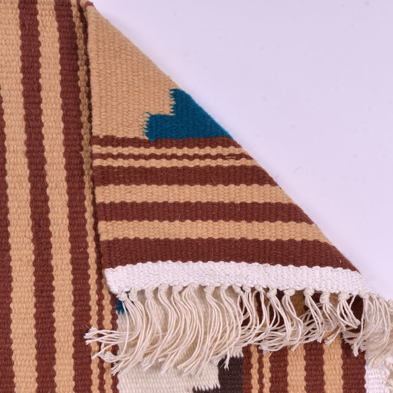 Kilim Rug Multi Color ZigZag