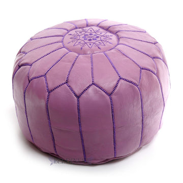 moroccan-lavender-leather-pouf