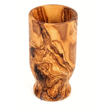 Olive Wood Kitchen Utensil Holder