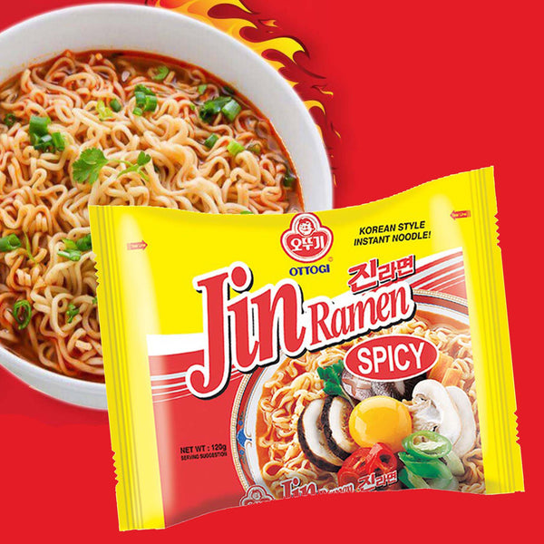 Jin Ramen Spicy - 3 pcs.