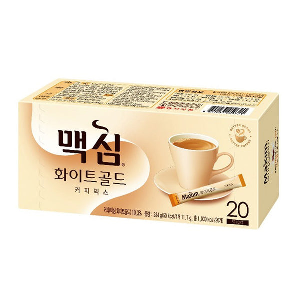 Maxim White Gold Coffee - 20 Pcs.
