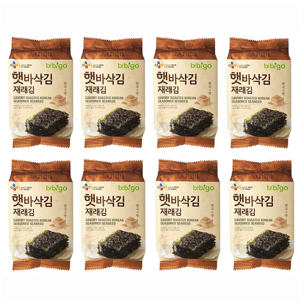 Bibigo Seaweed - 8 Packs