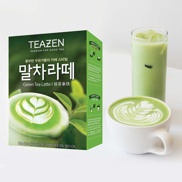Teazen Matcha Latte - 7 sticks