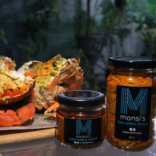 Famous Monsi Chili Garlic Crab Aligue 200g