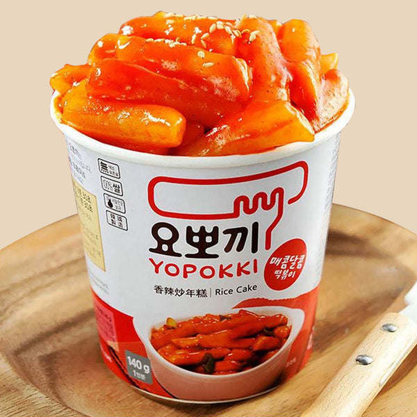 Yopokki Sweet and Spicy Rice Cake 140g