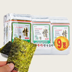 Roasted Seaweeds - 9 Packs