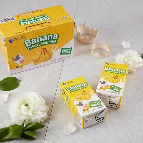 Banana Milk Drink - 1pc