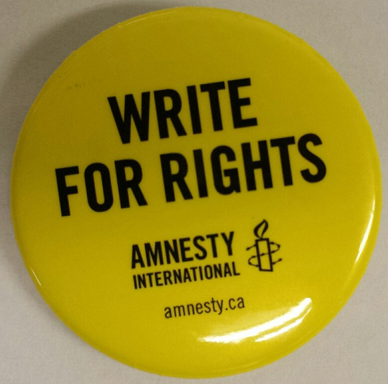 Write for Rights Buttons (Bag of 10) Limit 5 Bags Per Event