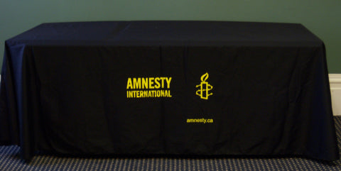 Amnesty Brand Table  Throw