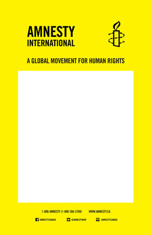 Amnesty International Poster