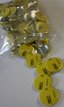 Amnesty Brand Buttons (Bag of 100)