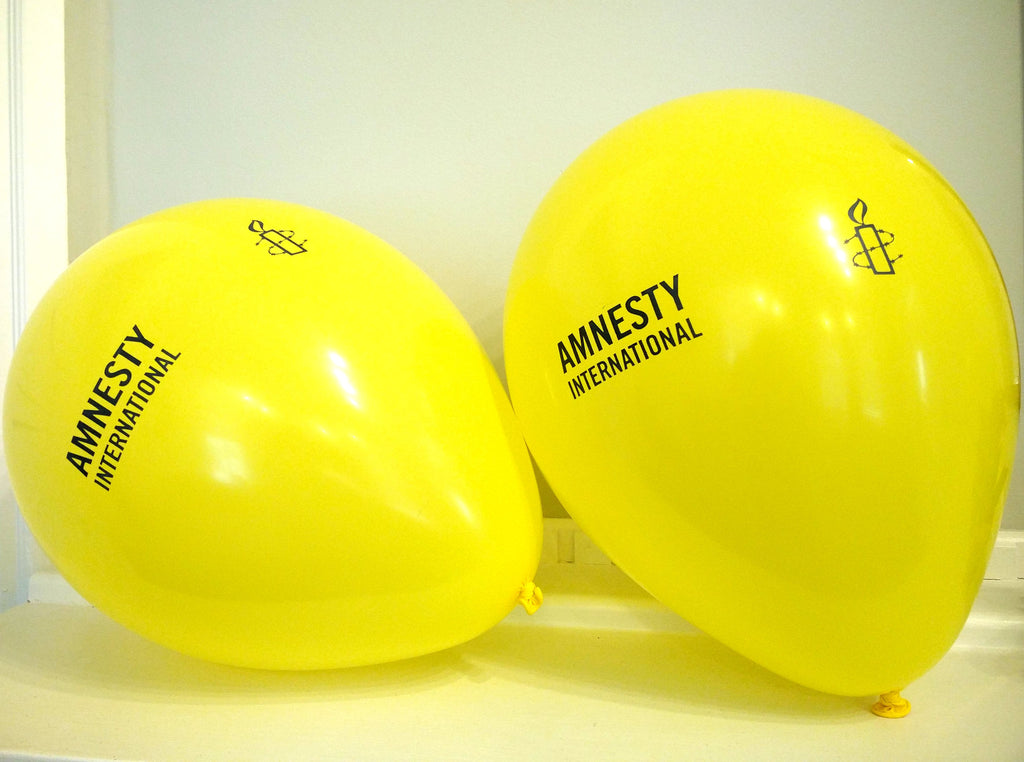 Amnesty Brand Balloons ( Bag of 10)