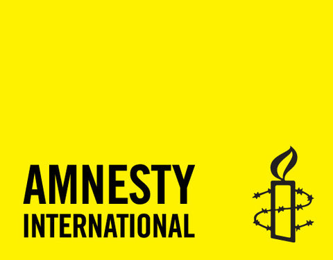 Amnesty International Vinyl Banner