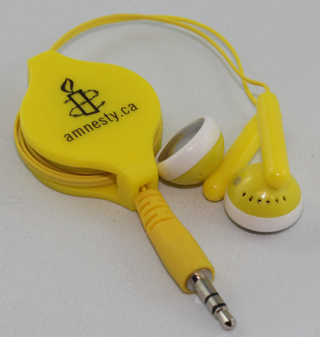 Amnesty International Ear Buds