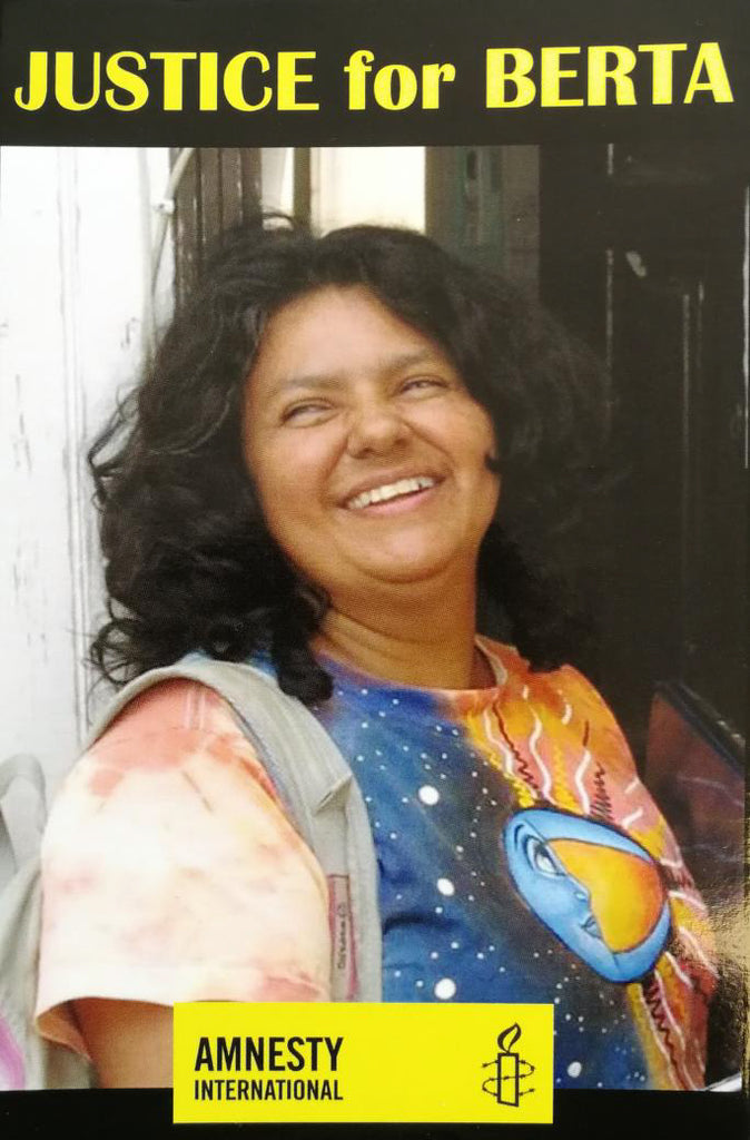 "JUSTICE for BERTA ""Postcard (Bundle of 10 postcards )"