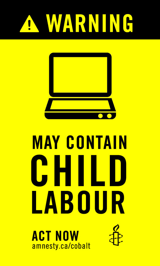 Warning! May Contain Child Labour Stickers ( Bundle of 10)