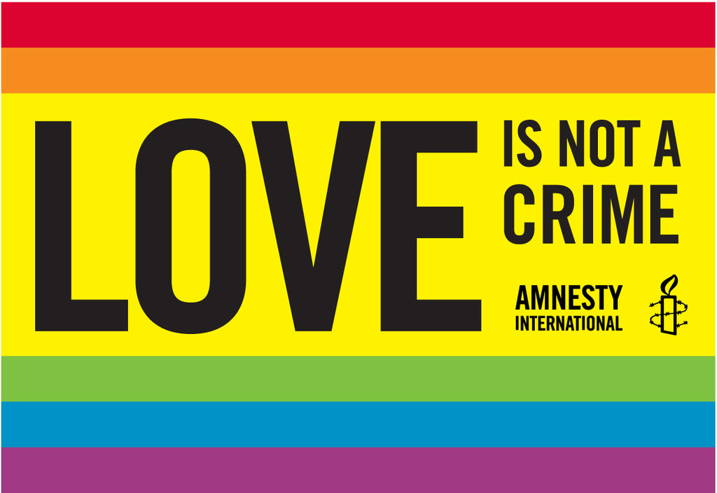 """LOVE IS NOT A CRIME""  Stickers (Bundle of 10 stickers)"