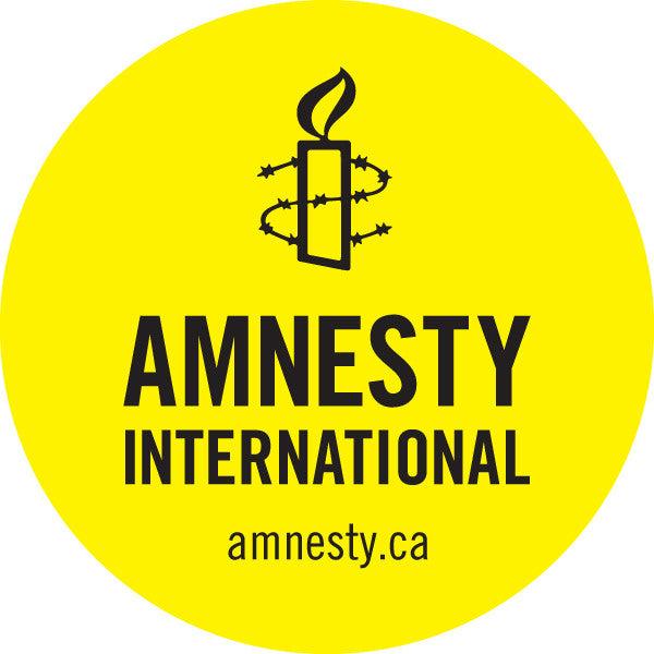 Round Amnesty International Sticker (Package of 10) Limited to 5 packages or 50 stickers per order