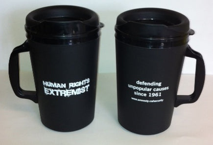 Human Rights Extremist Travel Mug