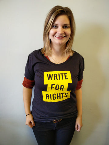 Write for Rights T shirt