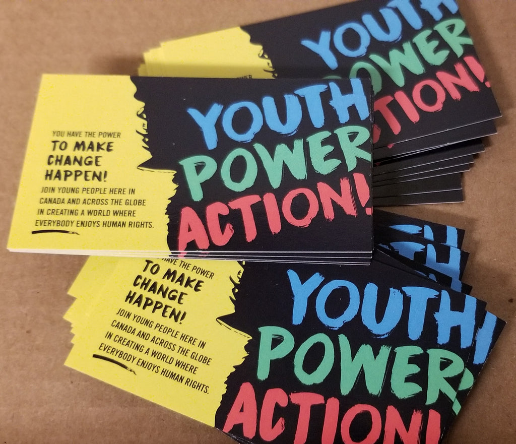 "Youth Power Action ""Cards"" (Bundle of 25)"