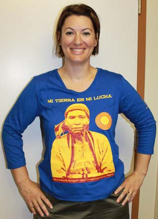 Guatemala Mining & Human Rights T- Shirt Women's