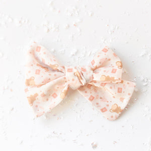 """Lou Who"" Midi Holiday Bow"