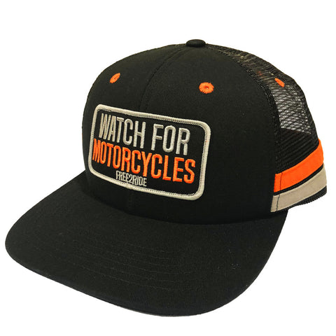 Watch For Motorcycles Mesh Hat