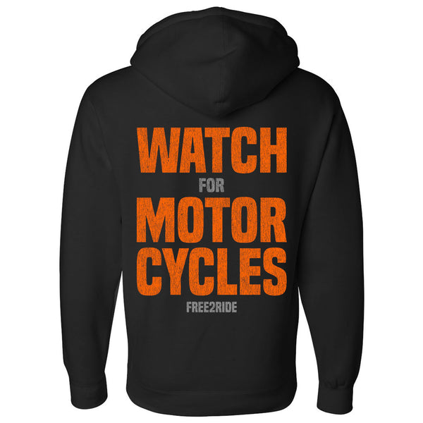 Watch For Motorcycles Hoodie