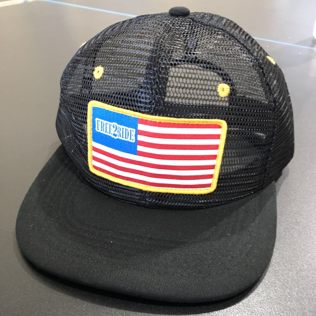 YOUTH Mesh Flag Hat