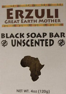 ERZULI BLACK SOAP 4 OZ - UNSCENTED
