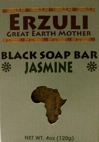 ERZULI BLACK SOAP 4 OZ - JASMINE
