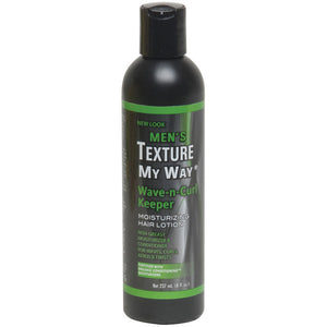 TEXTURE MY WAY MENS WAVE N CURL KEEPER MOIST LOTION 8 OZ